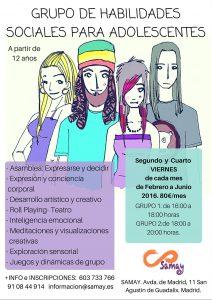 HABILIDADES SOCIALES ADOLESCENTES